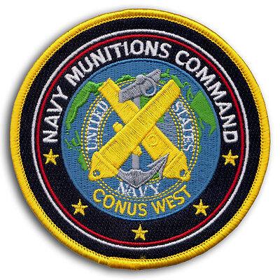 US Navy MUNITIONS COMMAND CONUS WEST Naval Weapons Station Yorktown VA