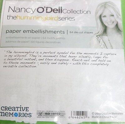 """CREATIVE MEMORIES  Papierverzierungen Nancy O´Dell """"HUMMINGBIRD"""""""
