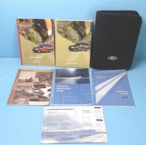 03 2003 Ford Explorer owners manual