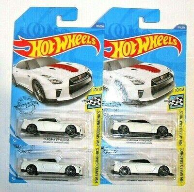4) HOT WHEELS  2020 '17 Nissan GT-R (R35) 2020 Model 50 Anniversary Version