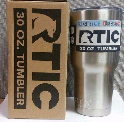 RTIC 30 oz. Tumbler Cup Shatterproof Lid Cold Hot Drinks Beverages Travel Mug