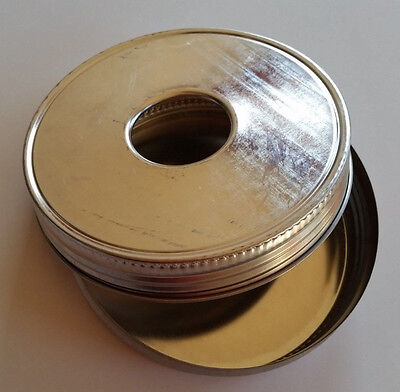 Piano Wire Canister for 1 Lb Music Wire Coil Storage Neat and Safe -