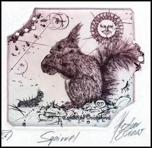 Hujber Gunter 2015 Exlibris C2 Squirrel Eichhörnchen Pets Animals 121a - <span itemprop='availableAtOrFrom'> Dabrowa, Polska</span> - Hujber Gunter 2015 Exlibris C2 Squirrel Eichhörnchen Pets Animals 121a -  Dabrowa, Polska