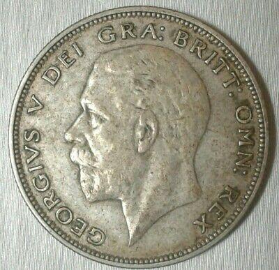 UK British 1934 Half Crown 1/2 .500 Silver