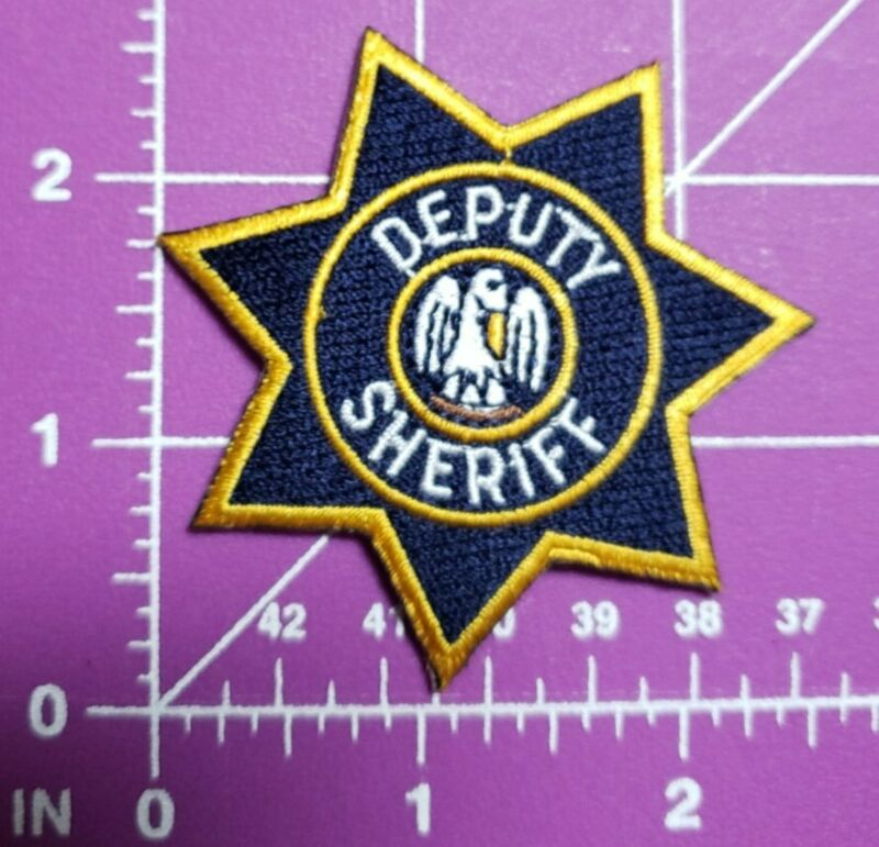 "Louisiana Deputy Sheriff small 2 1/2"" star patch"