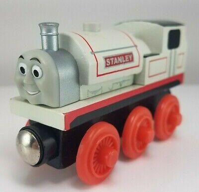 2003 Thomas & Friends Wooden Railway Stanley Train Engine White Red #2210WJ00