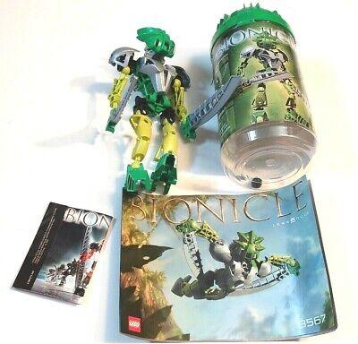 Lego 8567 Bionicle Toa Nuva Lewa Nuva (100% Complete With Canister & Manual)