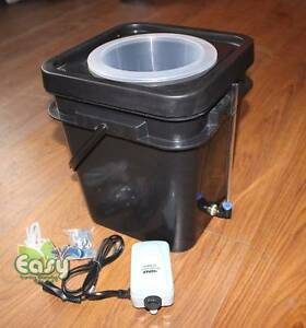 New Hydroponic DWC 15L Bucket Gardening System with Pump, etc Merrimac Gold Coast City Preview