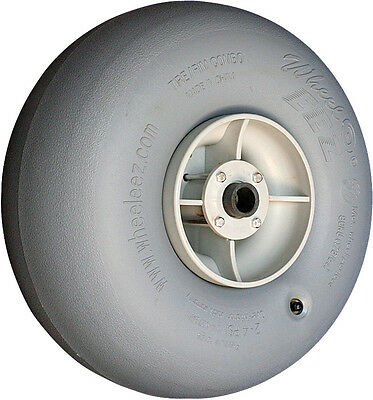 "Wheeleez 42cm (16.5"") Grey Wheel - soft pneumatic tire for sand or soft surface"