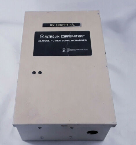 ALTRONIX AL400UL POWER SUPPLY/CHARGER