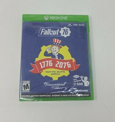 Xbox One Fallout 76 Tricentennial Edition Video Game Sealed