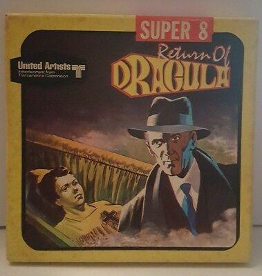 Super 8 Film:  RETURN OF DRACULA United artists Halloween fun movie #2215