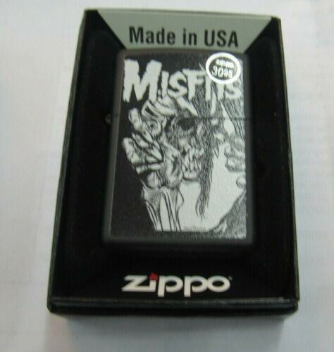 MISFITS ZIPPO LIGHTER AUTHENTIC 2019 LICENSED ROCK N ROLL