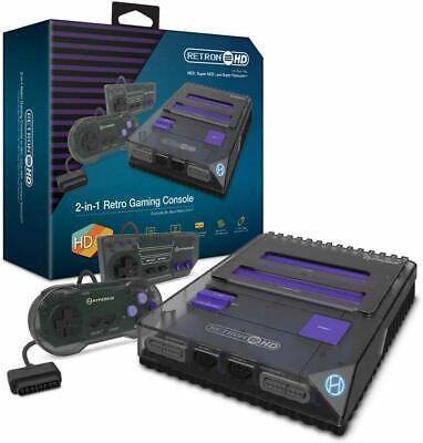 Hyperkin RetroN 2 HD Gaming Console for Nintendo NES/SNES/Super Famicom - Black
