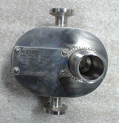 Flow Tech Flow Meter Dc01f-6116-5405000 250psi 1gpm Torque 4ft-lbs 5927.2pgal