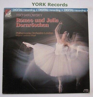 EA 15503 - TCHAIKOVSKY - Romeo & Juliet / Sleeping Beauty SIEGEL - Ex LP Record