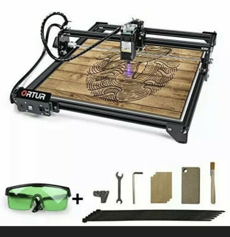 ORTUR Laser Master 2, Laser Engraving Cutting Machine (LU1-4), Read Description