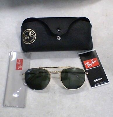 Lunettes Solaire Ray Ban THE MARSHAL - RB3648 - OR - (Ray Ban Sunglasses Police)