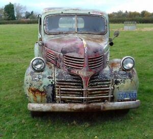 1941 Dodge Pickup Truck Classic American Hot Rod Rat Rod Pre WW2 Patina 4 Speed