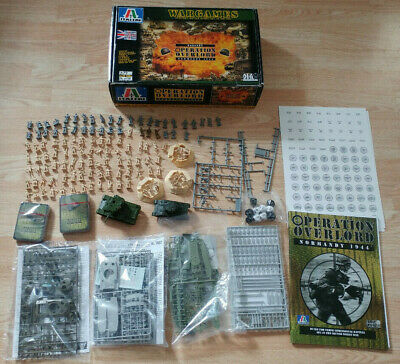 Italeri Wargames Operation Overlord Normandy 1944 1:72 Scale 6700 Model Game
