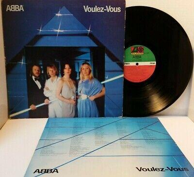 ABBA Voulez-Vous Vinyl LP Atlantic SD 16000 - Tested Strong VG   *S9