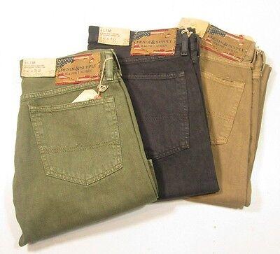 Denim   Supply Ralph Lauren Slim 67 Denim Vevo Colored Jeans