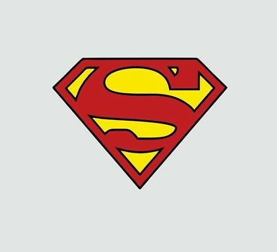 Superman Logo Superhero Color Decal Sticker-Free Shipping](Superman Logo Stickers)