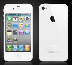 Mint condition white iPhone 4, 8gb  Perfect travel/kids phone.