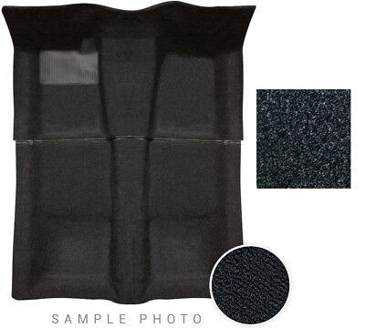 Wagon Carpet Set (73-77 for GM A-Body 4 Door & Wagon Carpet Set 2 Piece Cut Pile 801 Black )