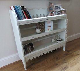 Handmade book/spice shelf