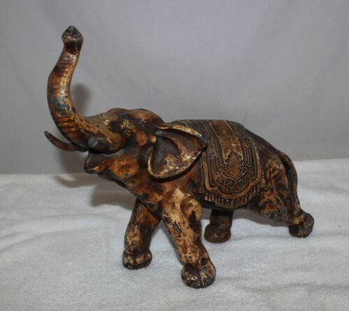 Lead Elephant Figure