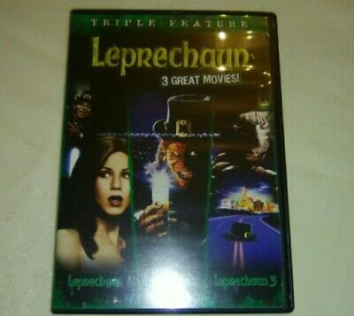 Leprechaun 1 2 3 Triple Feature Scary Movies Rampage Stolen Gold Coins Las Vegas](Scary Leprechaun)