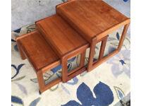 Teak- Wood Nest of Tables