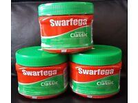 SWARFEGA 3 x 500ml Tubs Original Classic Hand Cleaner Smooth Green Wash Gel