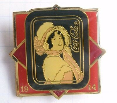 1914 / COCA-COLA / 100-JÄHRIGEN SATZ ..... Spange/kein Pin (Ka4)