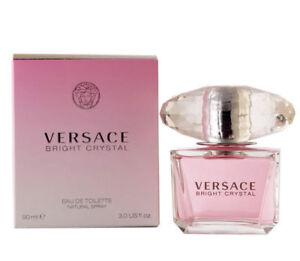 Versace Bright Crystal 3.0 oz Women's Perfume EDT Spray NEW AUTH Sealed!