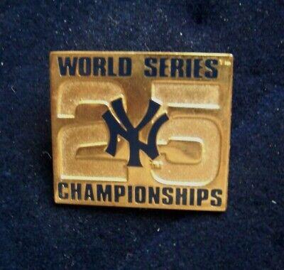 1999 NY New York Yankees 25 World Series Championships lapel pin WS (New York Yankees World Series Championships 1999)
