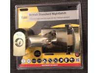 Yale 60mm Brass Effect Night latch P-BS1-BLX-PB-60 BRAND NEW for sale  Bramhall, Manchester