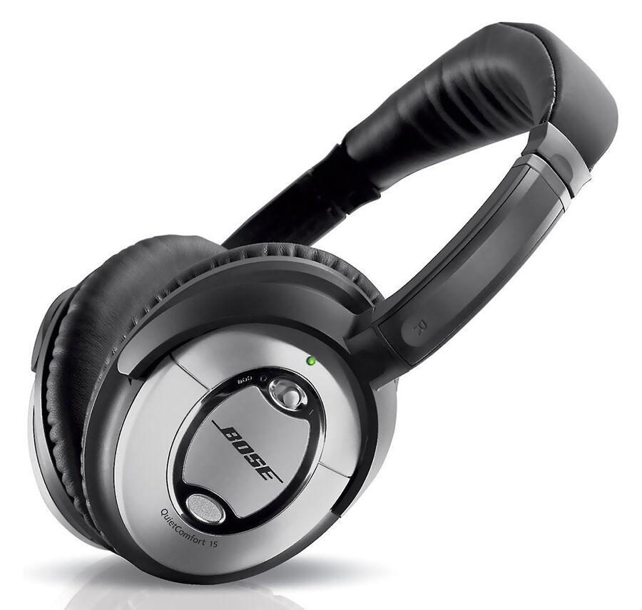Bose QuietComfort 15 On-Ear Noise-Cancelling Headphones