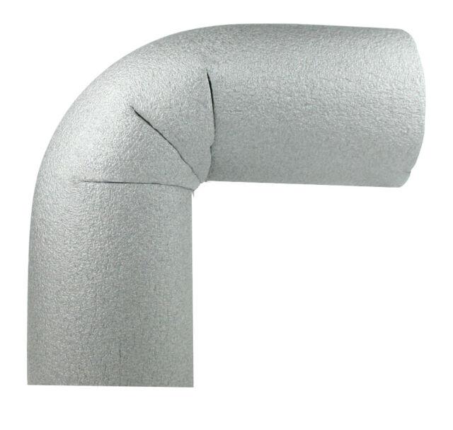 10 x Rohrdämmung, für Rohre mit 42mm Durchmesser, 13mm Materialstärke 90° Bogen