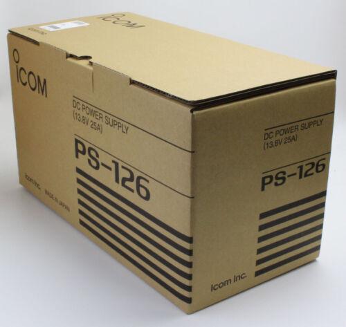 ICOM PS-126 DC Power Supplies IC7600,IC7300,IC7100,IC7410,IC7200,IC9100,IC7000