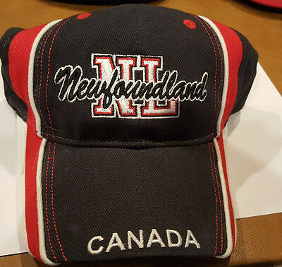 NEWFOUNDLAND CANADA Baseball Cap Hat Adjustable Strapback  Tall Ships Trading Co