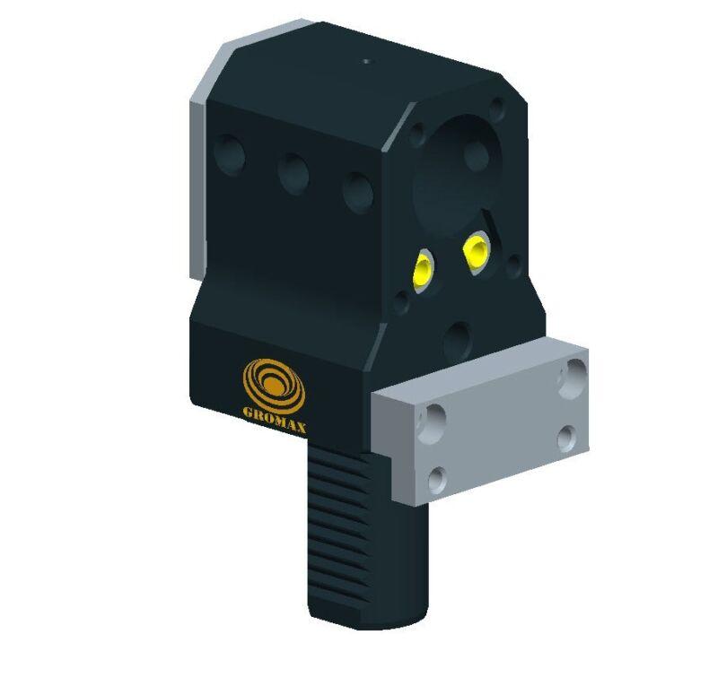 """T1-60-60-135 Vdi T1 Single Bore Boring Bar Holder  D=60mm D1=2-1/2"""""""