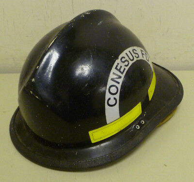 Firefighter Bunker Turn Out Gear Cairns N660c 660c Black Helmet Reflector  H198