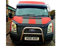 2010 Ford transit 2.2 tdci 6 speed with st mods stunning van swap or Px