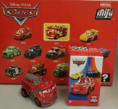 Disney Cars Toy Box (2019 Disney Pixar Cars 3 Metal Mini Racers Series 1 Mystery Box #12 RED VHTF  )