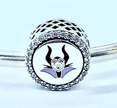"Authentic Pandora Disney Villains Maleficent ""Mistress of All Evil"" Charm+BOX"