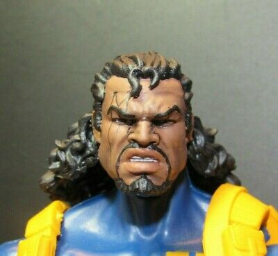 HEAD ONLY Marvel Legends Custom painted Head X-men Bishop Mullet