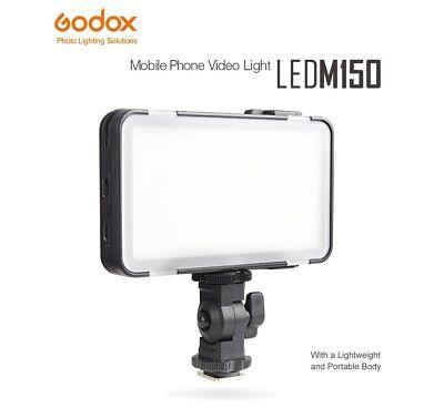 Godox M150 Mini Ultra-Thin LED Video Light Lamp Lighting for iPhone Android DSLR Mini Thin Led