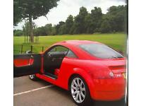 Audi tt 225,red with red leather interior